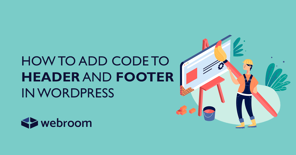 How to add code to Header and Footer via functions.php in WordPress