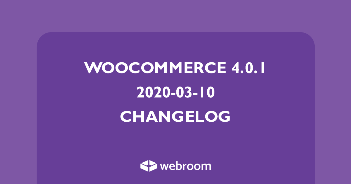 woocommerce-4-0-0-changelog
