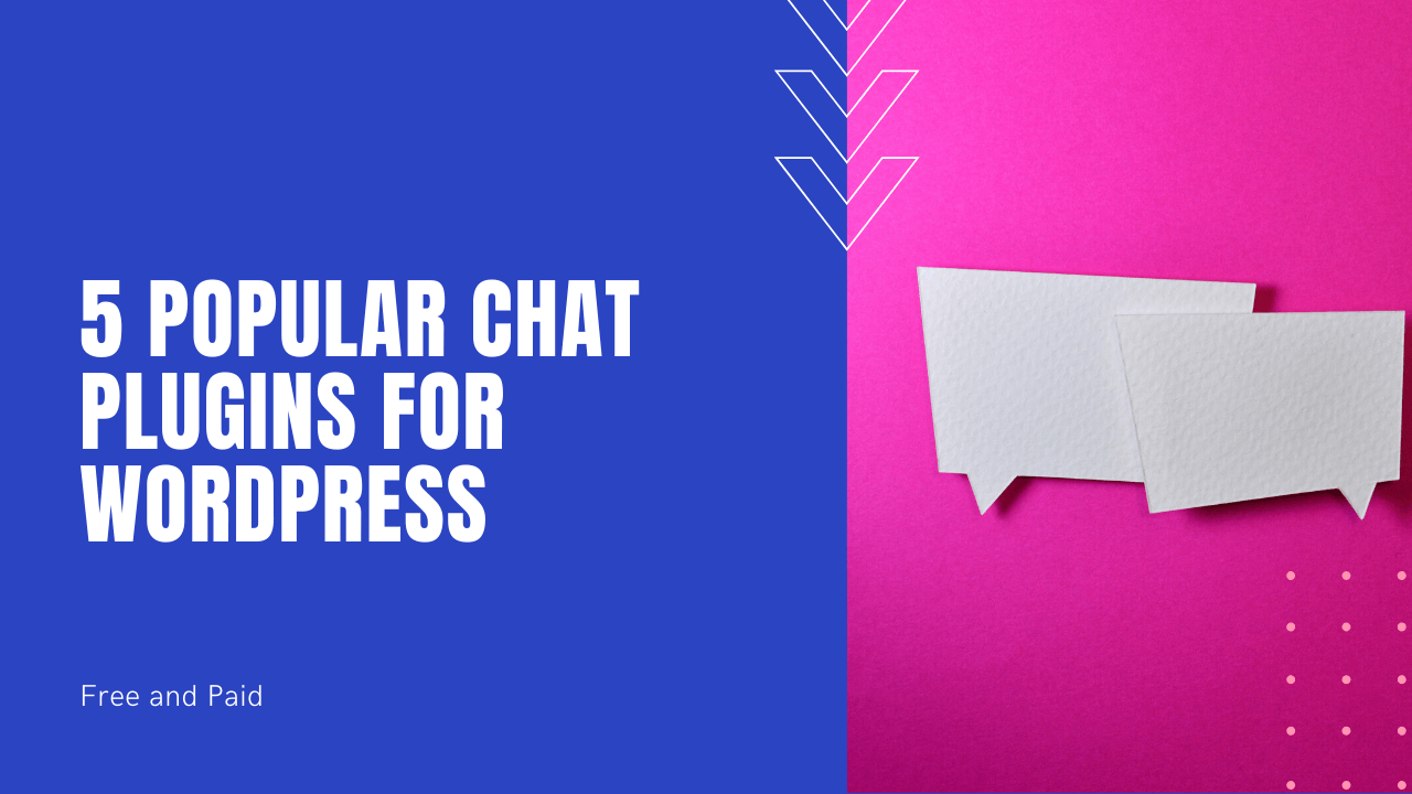 5 popular chat plugins for WordPress