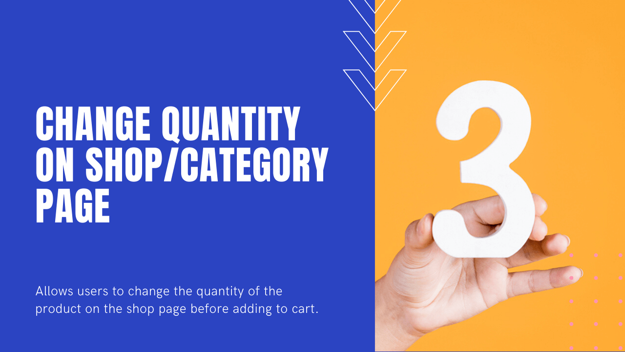 Change Quantity on WooCommerce Shop Page