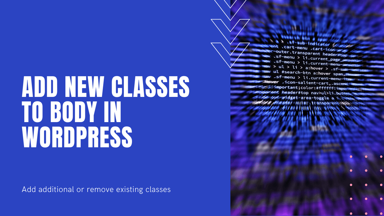 add additional body classes to wordpress