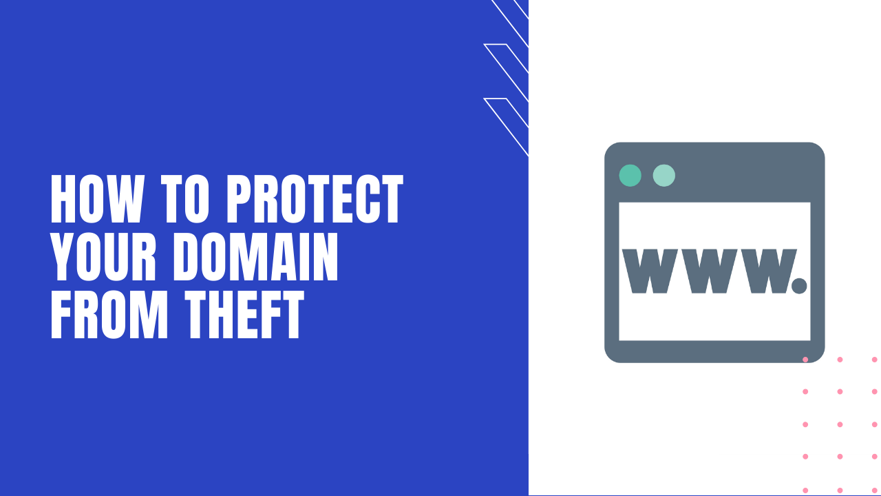 protect your domain from theft